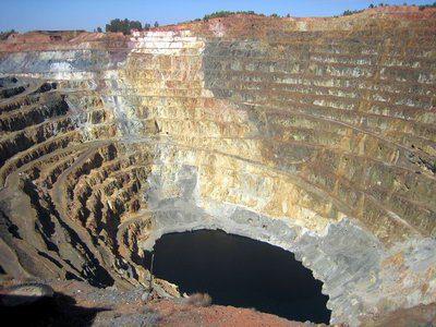 Minas de San Jorge, yacimiento de oro y cobre