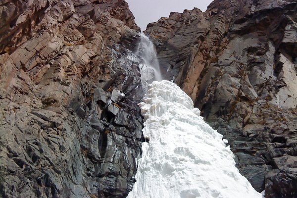 El Salto y su magia de hielo
