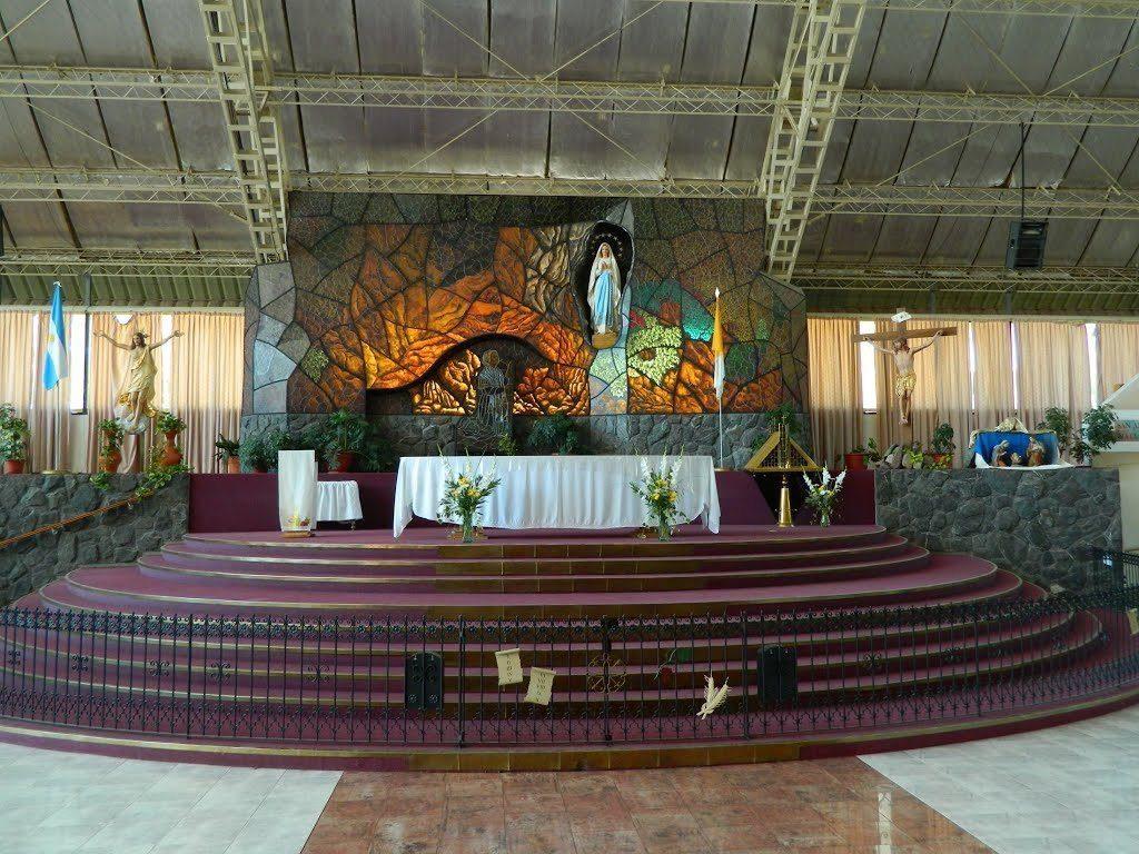 Altar principal del Templo