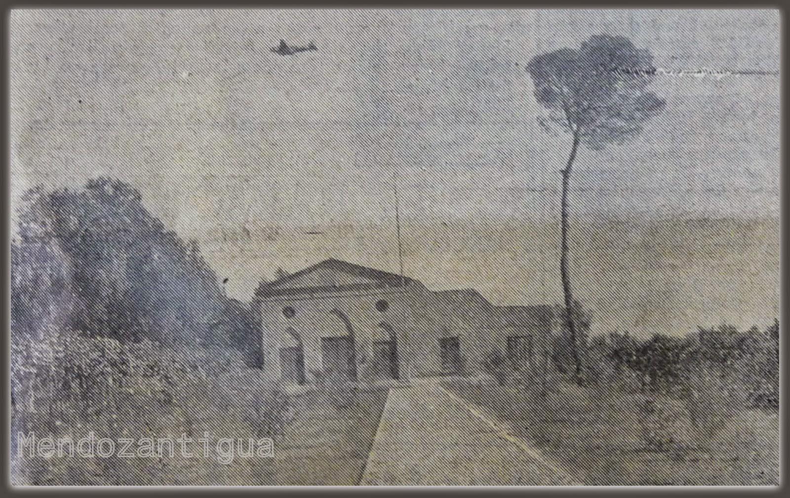 Capilla del campo El Plumerillo. antigua